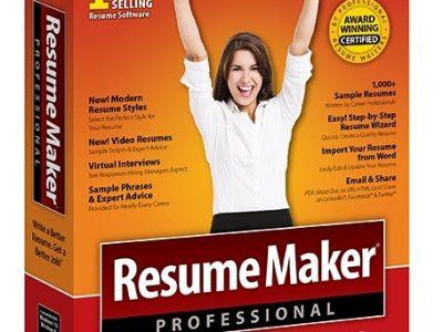ResumeMaker Professional Deluxe Crack v20.1.3.171 Plus License Key [2021]